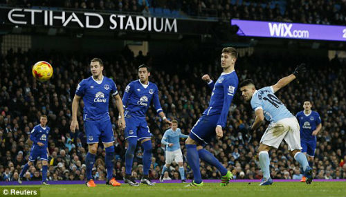 video man city vs everton - 1