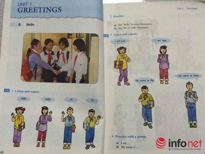 """NXB Giáo dục lên tiếng chuyện SGK Tiếng Anh """"mấy lớp vẫn học Hello"""" - 1"""