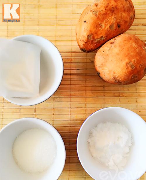 Lạ miệng với mứt khoai lang kén lăn dừa - 1