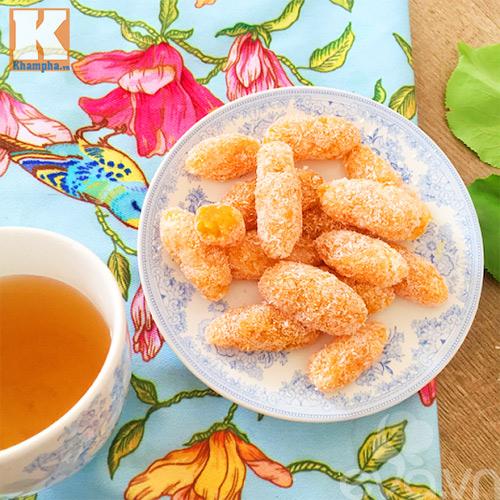 Lạ miệng với mứt khoai lang kén lăn dừa - 7