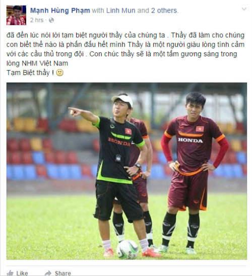 Miura-VFF chia tay, cầu thủ Việt nghẹn ngào chào thầy - 1