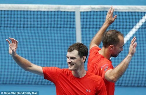 Australian Open ngày 11: Murray anh vào chung kết - 1