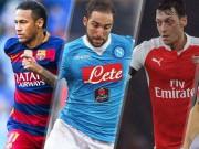 """Bóng đá - Những siêu sao """"lên đỉnh"""" ở mùa giải 2015/16"""