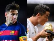 Bóng đá - Đua Giày vàng châu Âu: Messi & Ronaldo giờ ở đâu