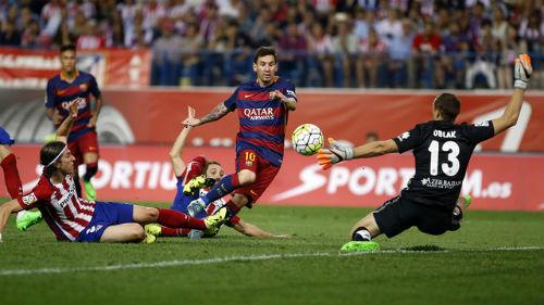 Trước V22 Liga: Barca quyết gieo sầu cho Atletico - 1