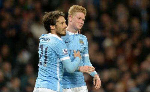 Man City mất De Bruyne: Cờ đến tay Silva - 2
