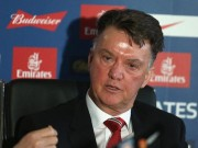 """Bóng đá - Van Gaal: """"Tôi đã bị truyền thông sa thải 3 lần"""""""
