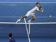 """Thể thao - Hot shot: Federer """"tả xung hữu đột"""" hạ Djokovic"""