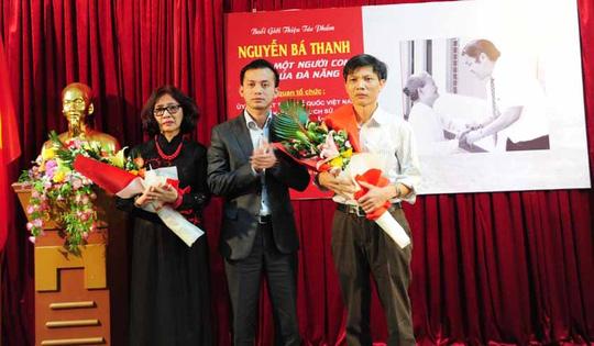 Bật khóc trong buổi ra mắt sách về ông Nguyễn Bá Thanh - 2