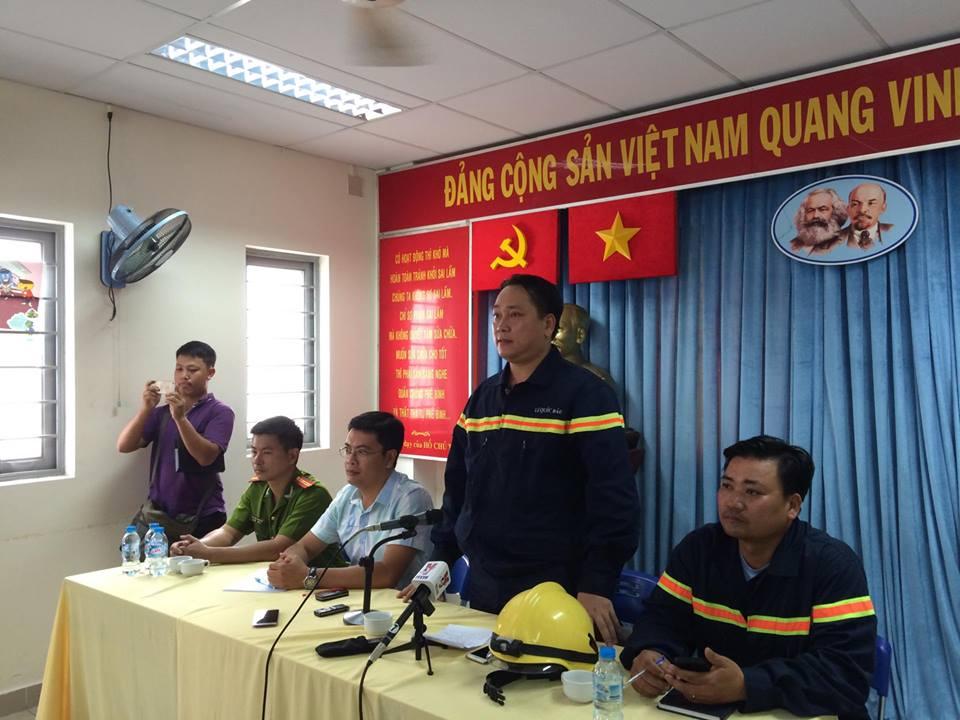 Họp báo nhanh sau vụ cháy lớn ở gara ô tô giữa Sài Gòn - 1