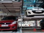 Tin tức 24h - Bên trong nhà đỗ xe giàn thép có cảm biến thông minh tại HN