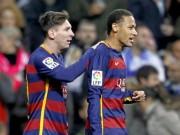 Bóng đá - Barca: Khi Neymar rực rỡ hơn Messi