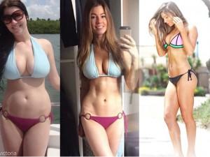 Hậu giảm cân, cô gái Mỹ sở hữu vóc dáng sexy như mẫu