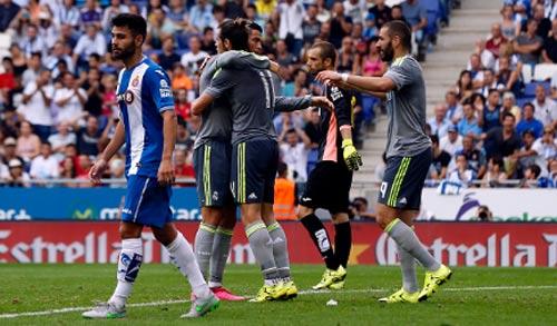"""Real Madrid – Espanyol: Bắt nạt """"đàn em"""" - 2"""