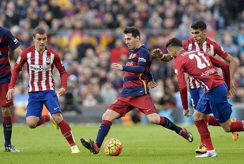 """Barca: Và CÁI ĐẸP lại """"đè bẹp"""" Atletico Madrid - 2"""