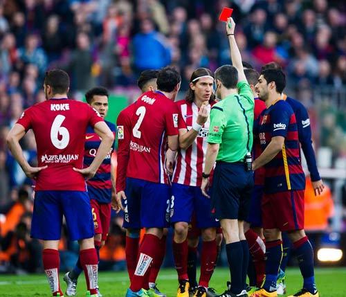 """Barca: Và CÁI ĐẸP lại """"đè bẹp"""" Atletico Madrid - 1"""