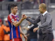 """Bóng đá - MU & Man City chú ý: """"Bom tấn"""" Lewandowski chờ theo Pep"""