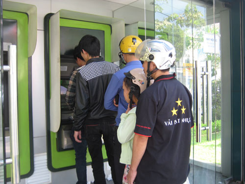 Giao dịch ATM tăng dần - 1
