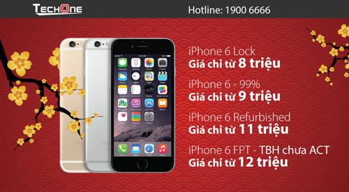 Đổ xô đi mua iPhone 6/6S hạ giá mạnh dịp Tết - 2