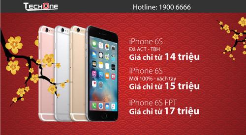 Đổ xô đi mua iPhone 6/6S hạ giá mạnh dịp Tết - 4