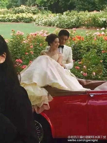 Lộ ảnh cưới lãng mạn của cặp sao 'Bộ bộ kinh tâm' - 2