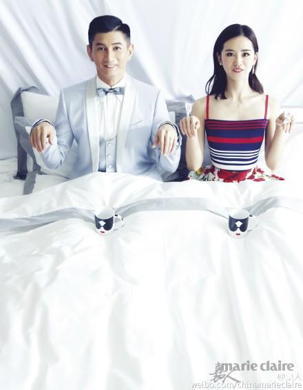 Lộ ảnh cưới lãng mạn của cặp sao 'Bộ bộ kinh tâm' - 5