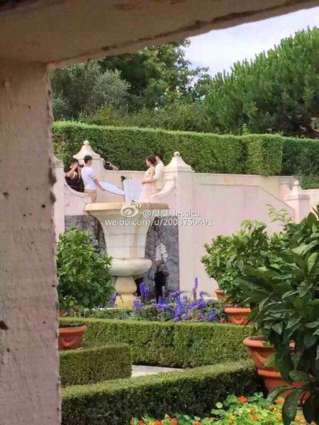 Lộ ảnh cưới lãng mạn của cặp sao 'Bộ bộ kinh tâm' - 8