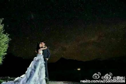 Lộ ảnh cưới lãng mạn của cặp sao 'Bộ bộ kinh tâm' - 7