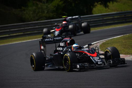 Bất ngờ F1: McLaren 2016 có thể bằng Mercedes - 1