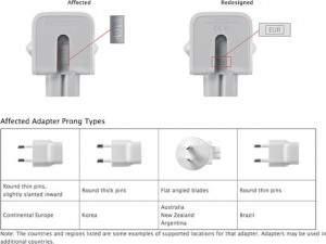 Máy in/phụ kiện - Apple thu hồi bộ sạc AC gây giật điện