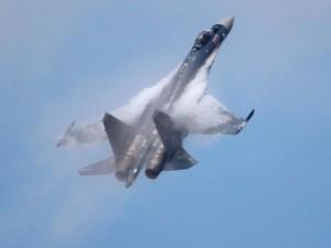 Thế giới - Nga đưa chiến đấu cơ đời mới S-35S oanh tạc ở Syria
