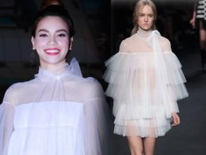 Váy hot nhất tuần: Đầm hiệu 150 triệu của Hà Hồ