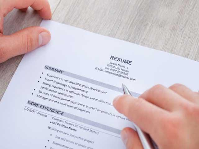 6 lỗi cơ bản trong hồ sơ xin việc khiến bạn bị đánh rớt - 1