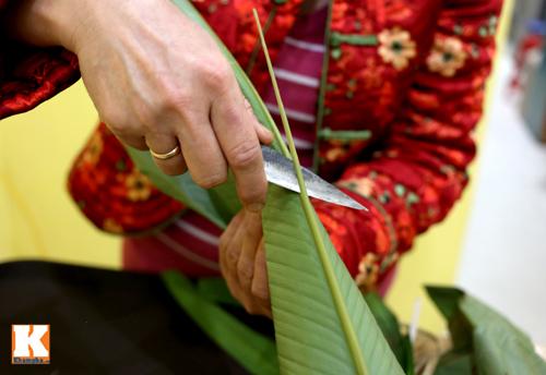 Huong dan goi banh chung dep mat - 4