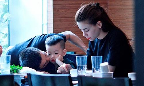 Facebook sao 2/2: Hà Hồ muốn 'nối lại' với Quốc Cường - 1