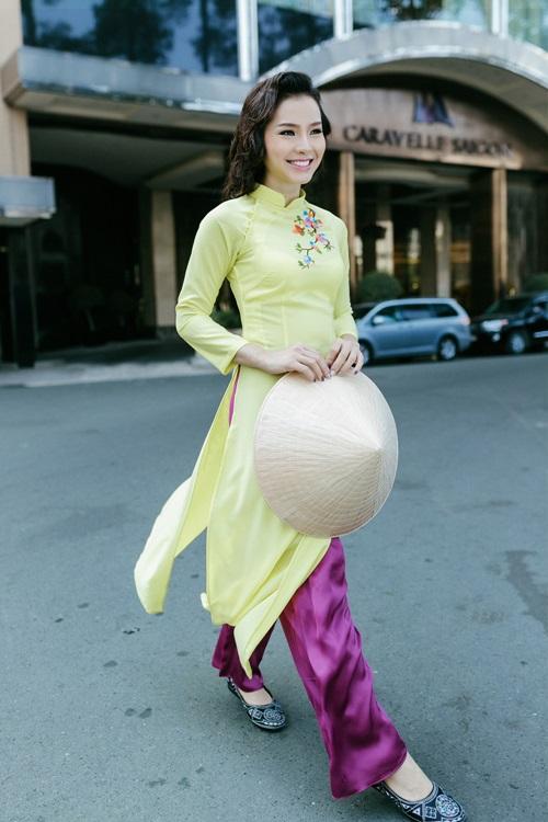 Phương Trinh Jolie lạ lẫm với hình ảnh quý cô Sài Gòn xưa - 9