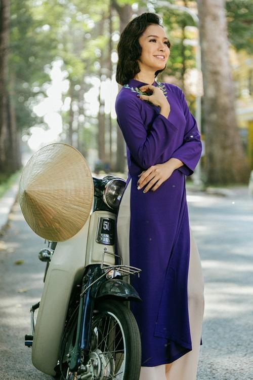 Phương Trinh Jolie lạ lẫm với hình ảnh quý cô Sài Gòn xưa - 2
