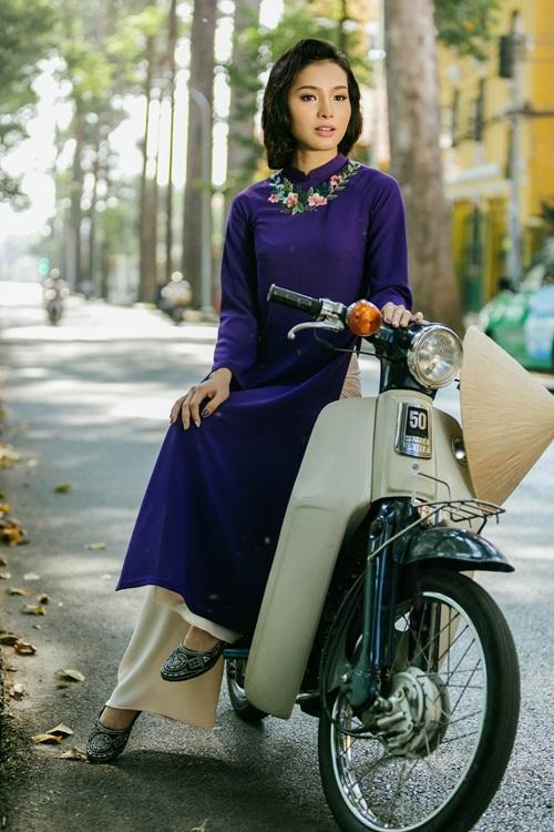 Phương Trinh Jolie lạ lẫm với hình ảnh quý cô Sài Gòn xưa - 3