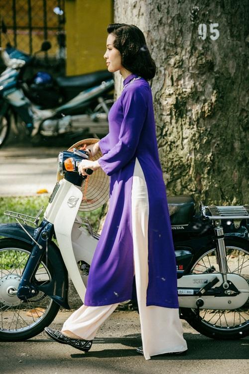 Phương Trinh Jolie lạ lẫm với hình ảnh quý cô Sài Gòn xưa - 4