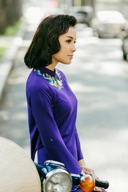 Phương Trinh Jolie lạ lẫm với hình ảnh quý cô Sài Gòn xưa - 5