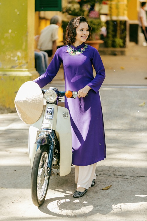 Phương Trinh Jolie lạ lẫm với hình ảnh quý cô Sài Gòn xưa - 6