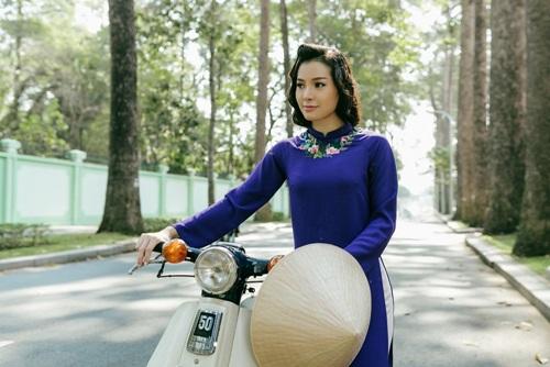 Phương Trinh Jolie lạ lẫm với hình ảnh quý cô Sài Gòn xưa - 7