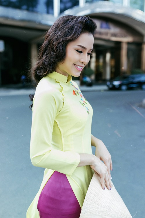 Phương Trinh Jolie lạ lẫm với hình ảnh quý cô Sài Gòn xưa - 8