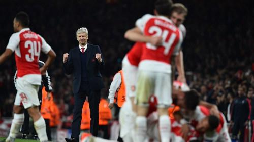 """Arsenal hơn nửa mùa phập phù, Wenger vẫn mơ """"ăn ba"""" - 1"""