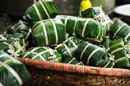 Các món ăn đem lại may mắn vào năm mới ở Châu Á - 1