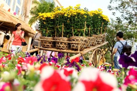 Ngắm cảnh làng quê Việt Nam ở khu nhà giàu - 18