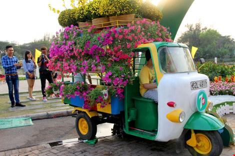 Ngắm cảnh làng quê Việt Nam ở khu nhà giàu - 2