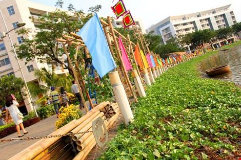 Ngắm cảnh làng quê Việt Nam ở khu nhà giàu - 3
