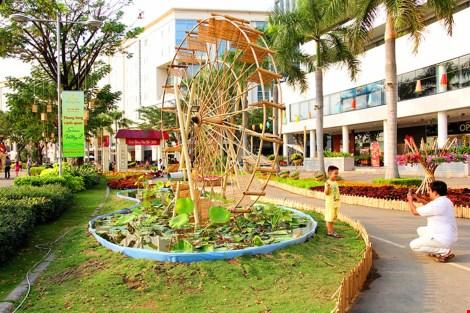 Ngắm cảnh làng quê Việt Nam ở khu nhà giàu - 4