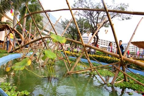Ngắm cảnh làng quê Việt Nam ở khu nhà giàu - 6